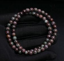 Garden Quartz Crystal Beads Bracelet 6mm 2pcs Natural Green Phantom Ghost