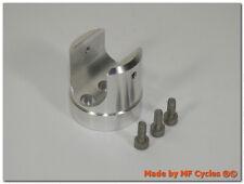 Lenkerklemme für 22,0mm 7/8 Zoll Lenker universal Aluminium machine finish