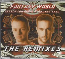 Charly Lownoise & Mental Theo ‎– Fantasy World (The Remixes    maxi cd  4 tracks