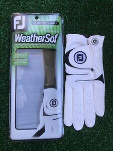 Women's FootJoy WeatherSof LEFT HAND Size Medium All Weather Golf Glove - NEW
