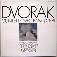 LP RICHTER, QUATUOR BORODINE, Pikaisen : Dvorak Quintet / CDM Mint-