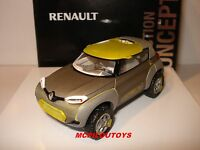 COFFRET NOREV RENAULT  CONCEPT CAR KWID SALON DE NEW DELHI 2014 au 1/43°