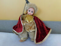 "Vintage Madame Alexaner 8"" Doll. Lassie Norway Viking W/Original Box and Tag."