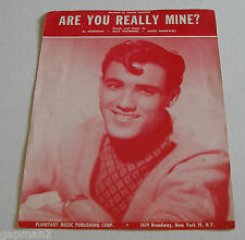 Jimmie Rodgers 1958 Sheet Music Are You Really Mine? TeeN