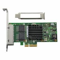 Intel I350-T4 PCI-E Four RJ45 Gigabit Ports Server Adapter NIC Netzwerkkarte