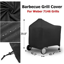 BBQ Barbecue Grill Full Cover Waterproof Heavy Duty Outdoor Protector For Weber