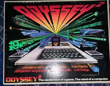 Magnavox Odyssey 2 Launch Edition Gray Console Complete CIB w/ 1 Game Speed Way!