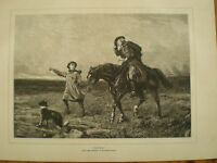 Duty from Heywood Hardy 1881 print