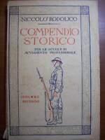 COMPENDIO STORICO NICOLO' RODOLICO VOLUME SECONDO - ZANICHELLI 1945  ( cc33)