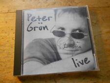 Peter Grün - live [CD Album] 2000 LAHN Paul Simon Cover / Signiert