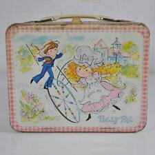 AA Vintage 1974 Leon Jason King-Seeley Metal Polly Pal Lunch Box & Pink Thermos