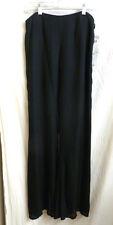 New SUE WONG black silk pants Size 8 $138