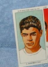 leonel sanchez chile soccer Collector card #319