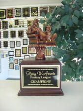 Fantasy Baseball Perpetual Armchair Baseball Award Trophy 16 Years New Cool!