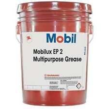 MOBIL 105763 Mobilux EP 2, EP Grease,NLGI 2,  5 gal