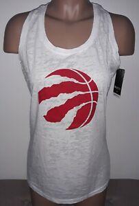 Levelwear TORONTO RAPTORS NBA Womens White Tank Top M