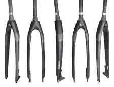 TOSEEK Carbon Fiber Bike Rigid Disc Brake Fork MTB Bike Tapered Fork Matte Black