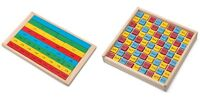 WOODEN FRACTION /TIMES BOARD EDUCATIONAL TOY novelty gift gadget childs school