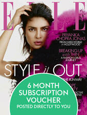 Elle Magazine Subscription (6 Month Voucher)