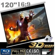 "Pro 120"" 16:9 Electric Auto Projector Motorized Projector screen"