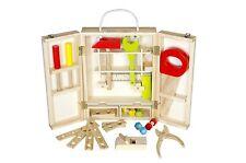Werkzeugkoffer 25-teilig aus Holz / Glow2b 1000022