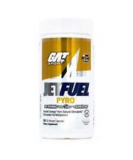 GAT Jetfuel Pyro Thermogenic Fat Burner and Hardening Catalyst (120 Capsules)