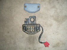 1981 Honda Silverwing GL500 Fuse Box & Cover Top Clamp Ignition Switch Holder 81