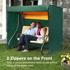 Heavy Duty Waterproof Cover 2 Seater Swinging Garden Hammock Swing Patio Outdoor