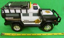 Tonka - Hasbro 2013 Sheriff Rescue Vehicle with 2 Flashing  Lights & Sirens