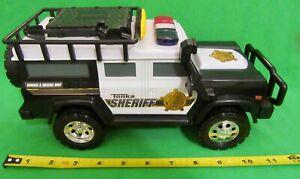 Tonka - Hasbro 2013 Sheriff Rescue Vehicle with 2 Flashing  Lights & Sirens