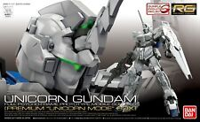 Gunpla 1/144 BANDAI Gundam RG RX-0 Unicorn Gundam Premium Mode Box First Limited