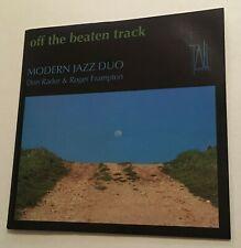 MODERN JAZZ DUO Off The Beaten Track CD 1998 DON RADER Roger Frampton oz TP130