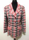 SARTORIA VINTAGE '70 Giacca Donna Lana Tweed Woman Wool Jacket Blazer Sz.L - 46