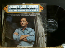 JERRY LEE LEWIS  Sings The Country Music  Vol 2.  LP     Great !!