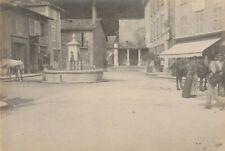 TRÈS ANIMÉE SASSENAGE  ISÈRE 38 PHOTO 1880 CABINET 15 X 10 cm