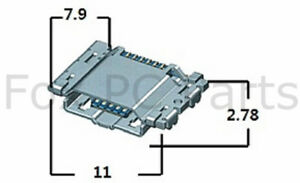 100X USB Charging Port DC Power Jack for Samsung I9300 Galaxy S3 i747 i535 T999