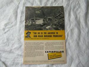 1958 Caterpillar D9 print AD