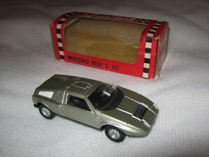 Modellino Mercedes Benz Wankel C111 della Mercury scala 1:43 made in Italy