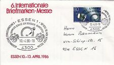 Sei TIMBRO copre da International Briefmarken-messe a Essen, edizione 1986