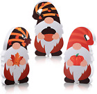 3 Pieces Fall Thanksgiving Gnome Table Decorations Fall Wooden Gnome Dwarf Decor