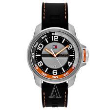 Tommy Hilfiger - 1790716 Stainless Steel Round Black Dial Men Quartz Watch