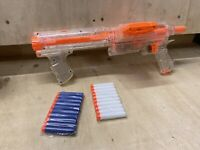 NERF N STRIKE | RAIDER CS-35 CLEAR SERIES | TOY BLASTER Ammo And  Mag