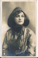ROTARY SERIES POSTCARD GLADYS COOPER FACSIMILE SIGNATURE 1917 MATT RP