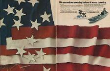1975 United States Navy - USS Richmond K. Turner (CG-20) - 2-Page Vintage Ad