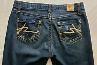 Buckle BKE Kate Stretch Womens Denim Blue Jeans Size 31 x 31 1/2 Boot Cut Dark