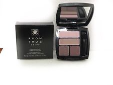 Avon True Color Eyeshadow Quad Romantic Mauves New