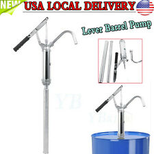 Fast Lever Action Barrel Transfer Fuel Hand Pump Oil Drum Gallon Drum Tank USA