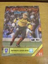 17/03/1990 Portsmouth v Oxford United  . Thanks for viewing this item, buy in co
