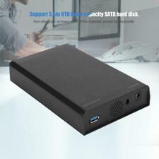 "3.5"" HDD External Enclosure Hard Drive USB 3.0 To SATA Mobile Hard Portable L4Z4"