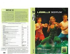 Les Mills Body Flow 50 Complete DVD, CD, Case and Notes